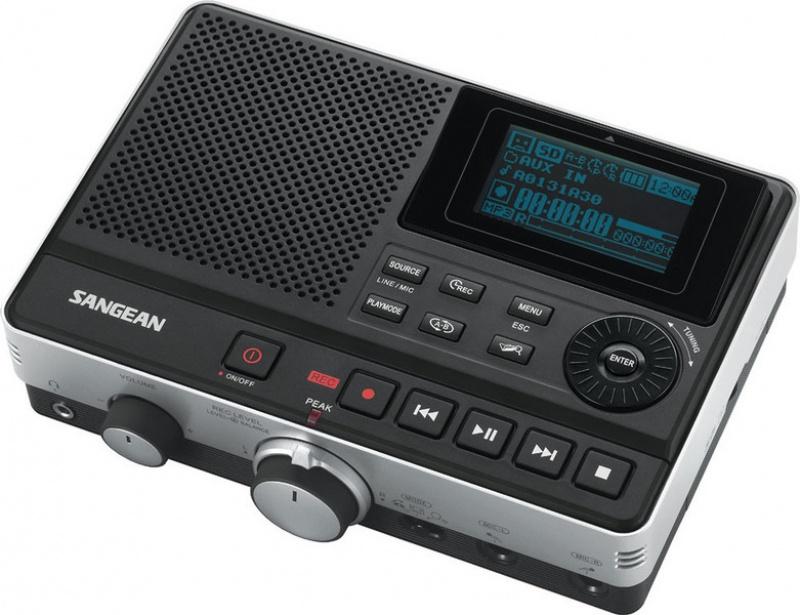 MP3 rekordér Sangean DAR 101