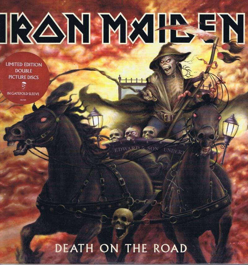 Iron Maiden - Death On The Road 2-LP