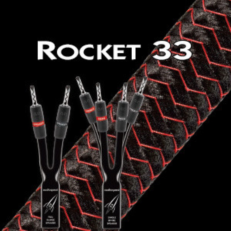 Audioquest Rocket 33 SBW - 2,5 m (banánky)