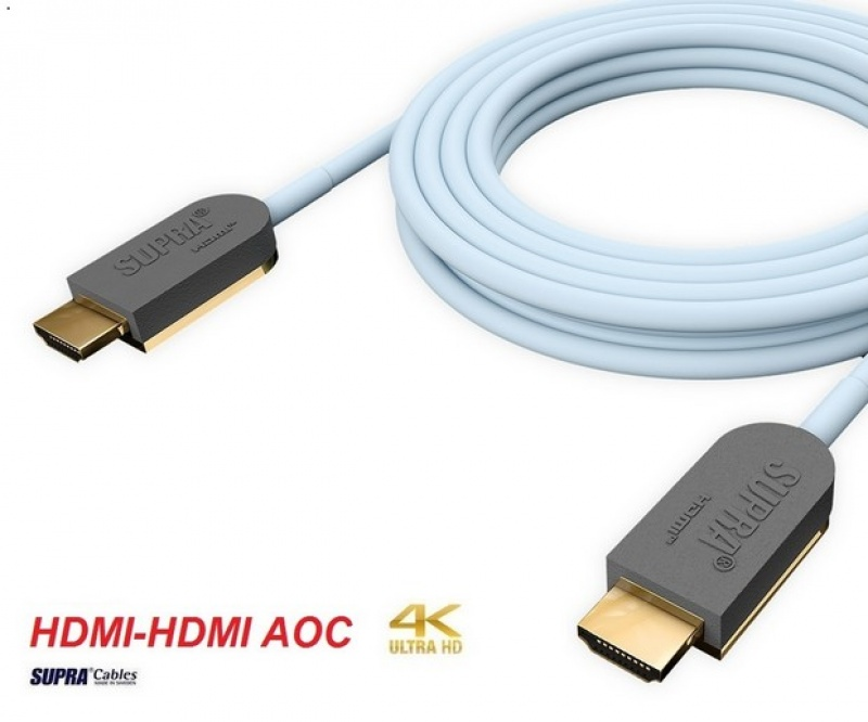 Supra HDMI-HDMI AOC OPTICAL 4K/HDR 10m