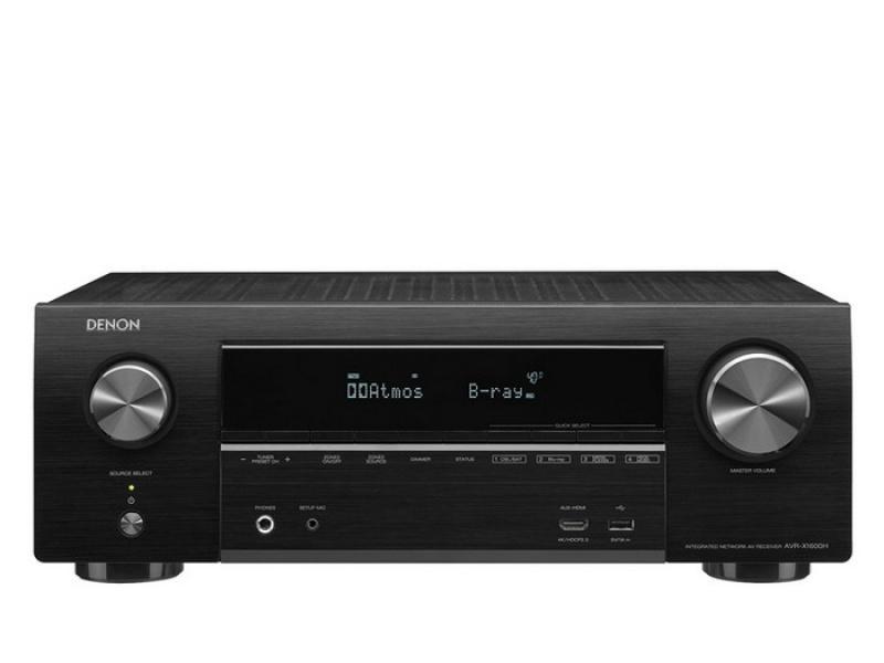 Denon AVR-X1600H Black