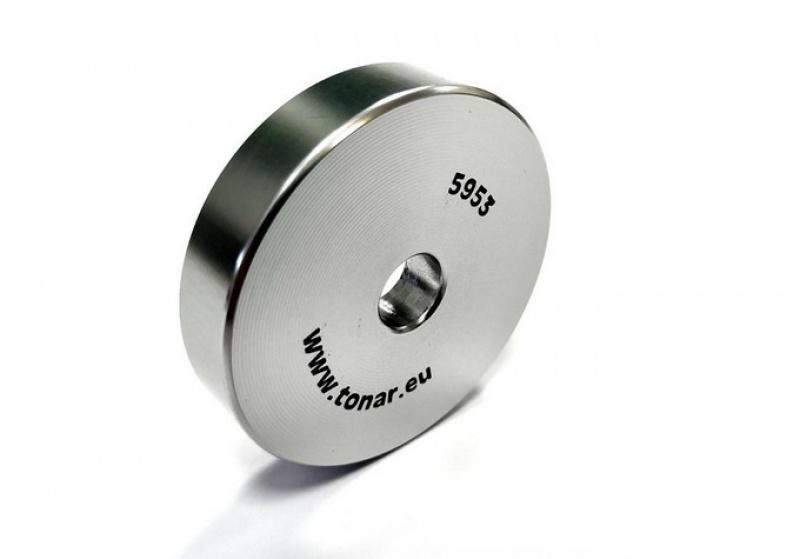 Tonar 45RPM Adapter aluminium