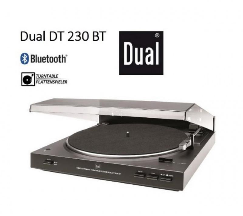 DUAL DT 230 BT + Audio-Technica AT-3600