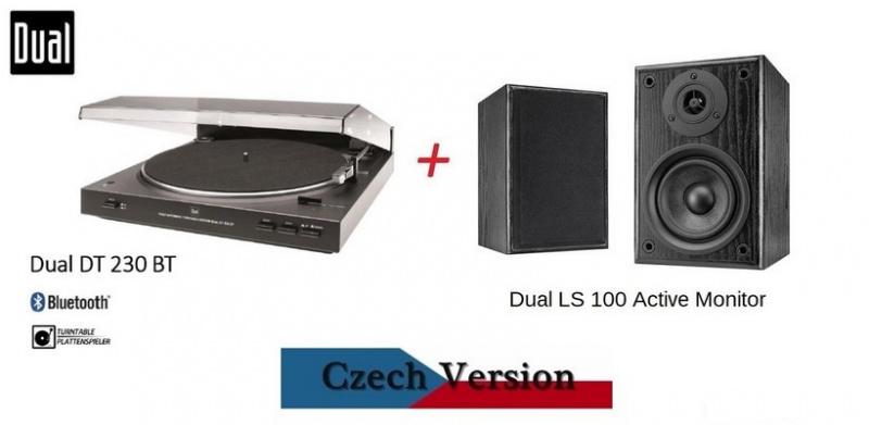 DUAL DT 230 BT + DUAL LS 100