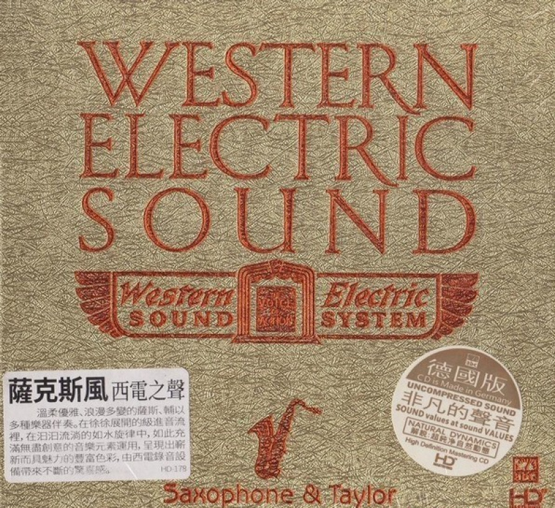 ABC Records - Western Electric Sound-Saxophone and Taylor CD