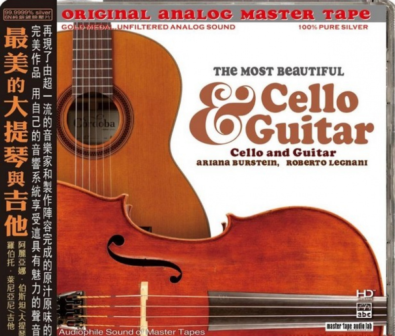 Ariana Burstein, Roberto Legnani - The Most Beautiful Cello and Guitar CD