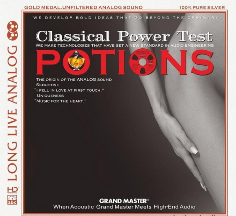 ABC Records - Potionns Classical Power Test CD-AAD