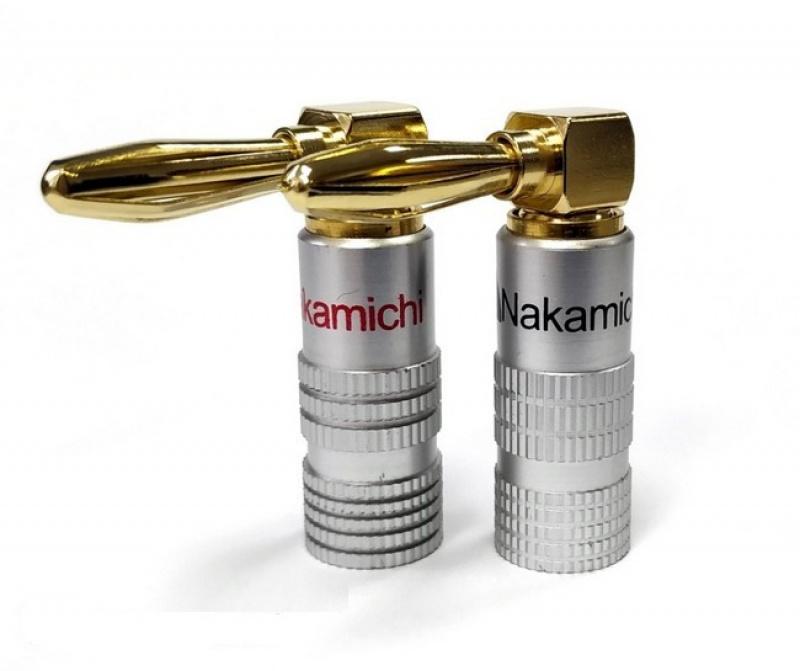 Nakamichi Banana Plugs Angle N0534A