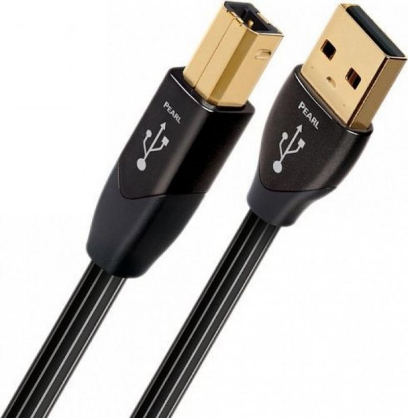 Audioquest Pearl USB A na USB B - 0,75 m