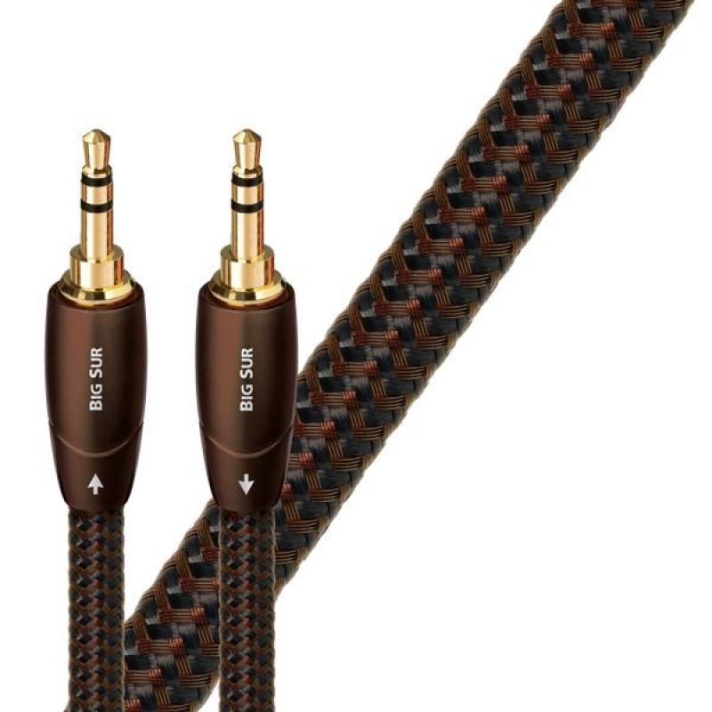 Audioquest Big Sur JJ 1,5 m - kabel audio 3,5 mm - 3,5 mm