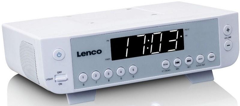 Lenco KCR-11 White