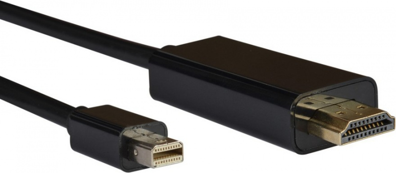 AQ KVI020 - kabel Mini DisplayPort samec - HDMI samec, 2,0 m