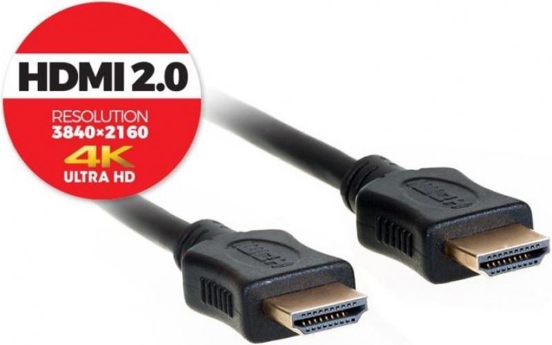 AQ BVH020 - HDMI 2.0 kabel 4K/UHD - 2,0 m