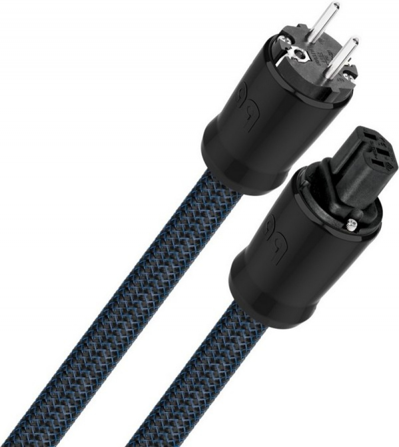 Audioquest Monsoon XTRM, napájecí kabel 1,0 m, koncovka IEC C-13