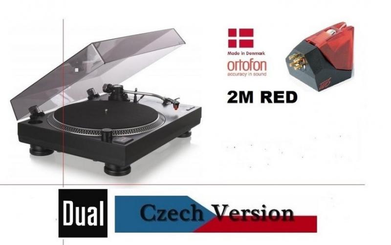 Dual DT 250 USB + Ortofon 2M RED