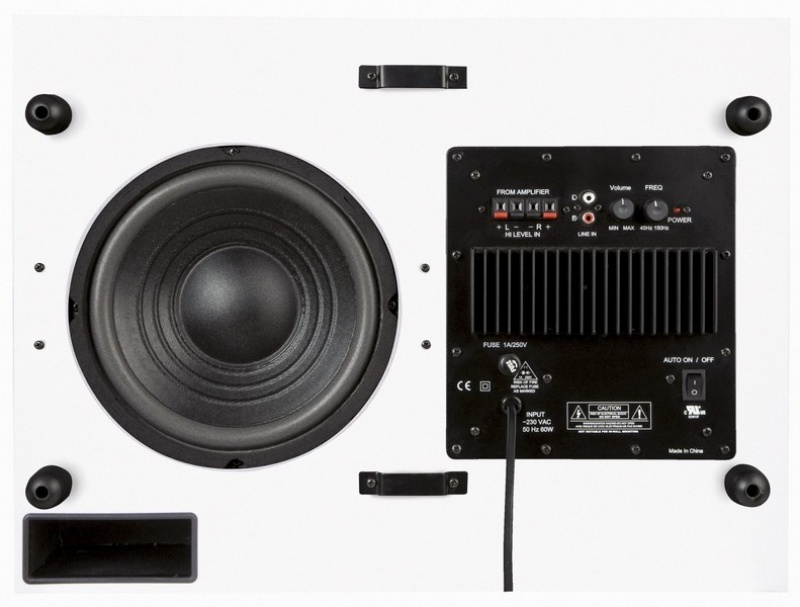 Subwoofer ART Sound FL - A80 bílý