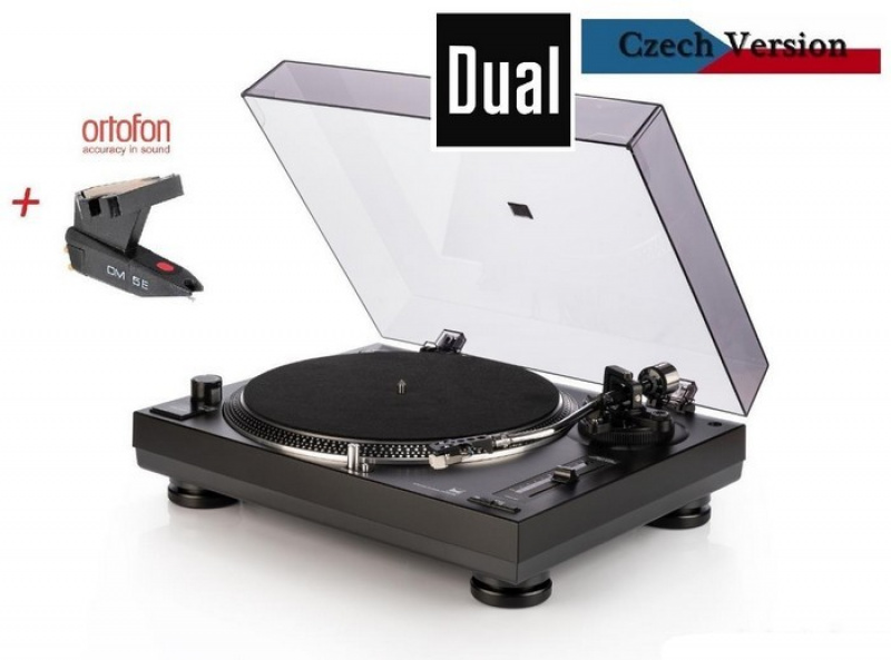 DUAL DT 303 Direct Drive USB + Ortofon OM 5E