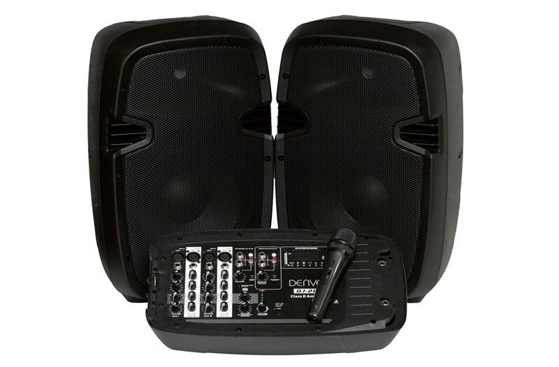 Audio systém Denver DJ-200