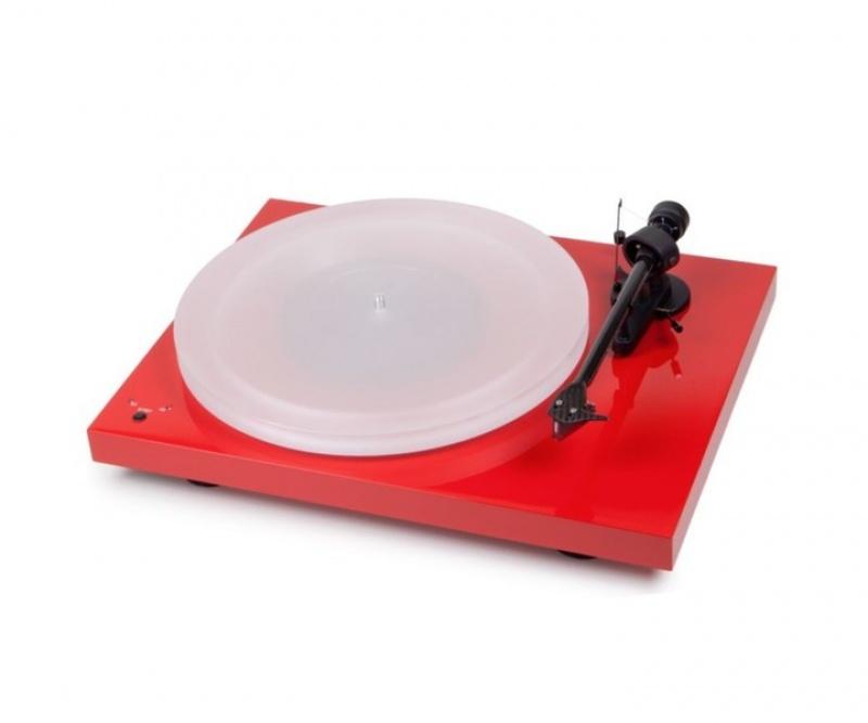 Pro-Ject Debut Recordmaster Hires - červený