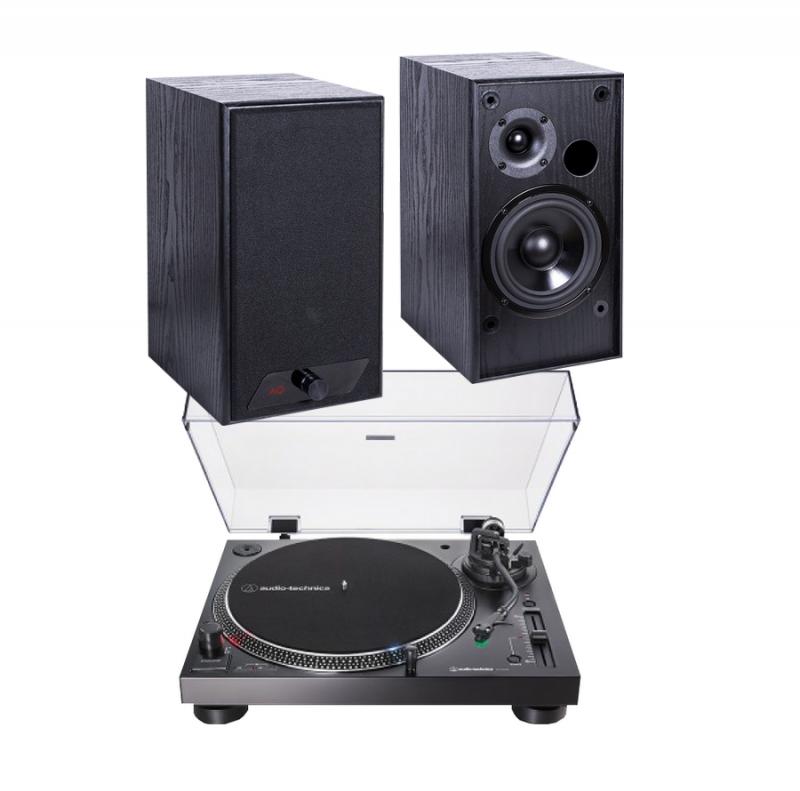 Audio-Technica AT-LP120XBT + AQ M24D