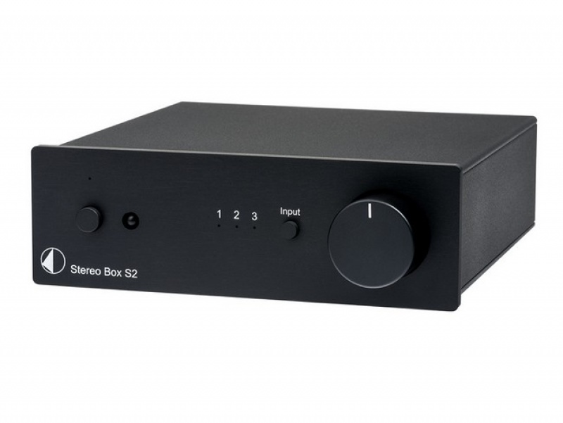 Pro-Ject Stereo Box S2 - Black