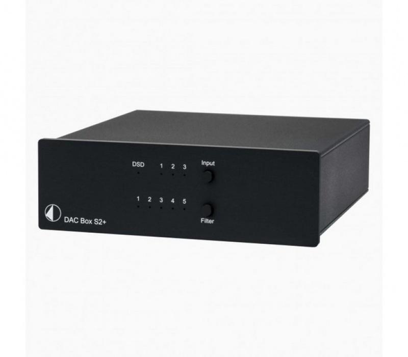 Pro-Ject DAC Box S2+ Black