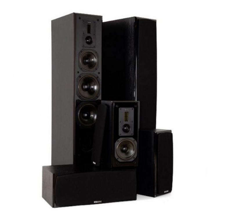 Dynavoice Definition DF-6 set 5.0 Black