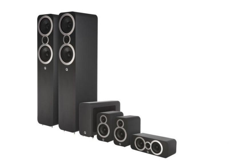 Q Acoustics 3050i 5.1 Carbon Black