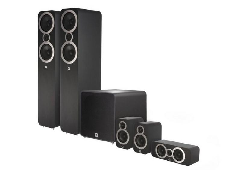 Q Acoustics 3050i Plus 5.1 Carbon Black