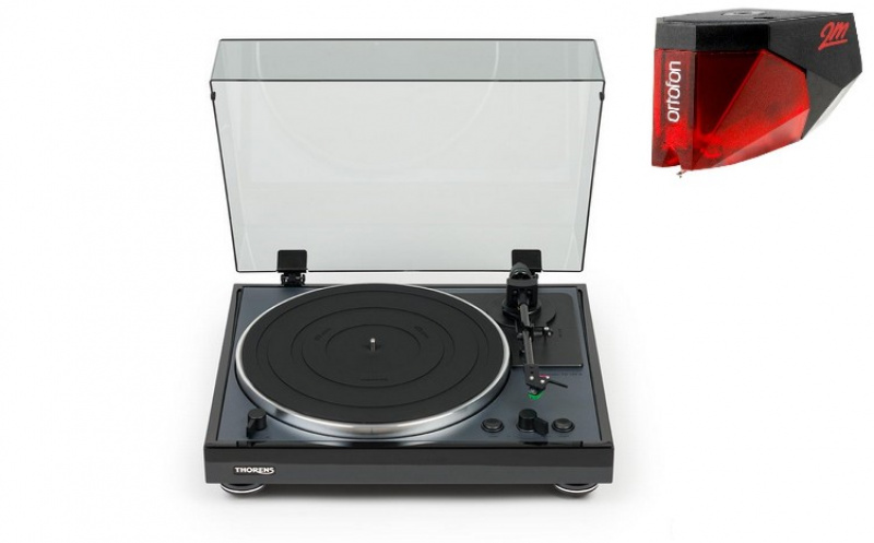 THORENS TD-102A Black + Ortofon 2M RED
