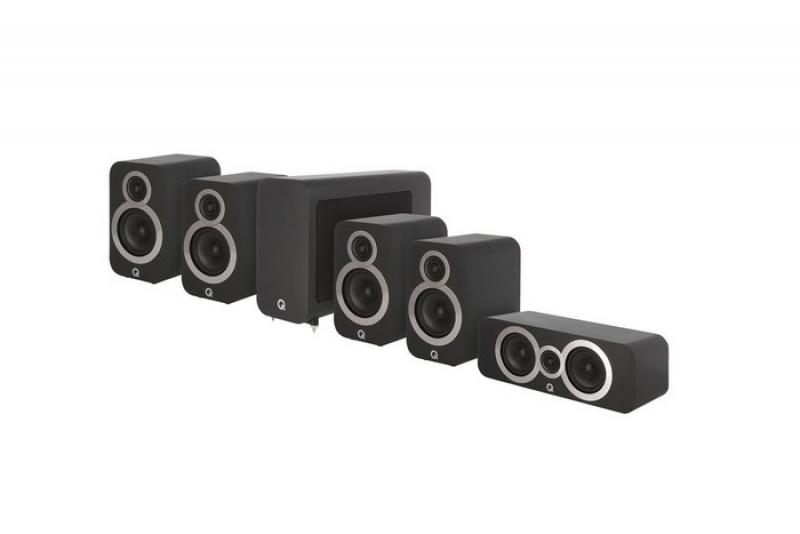 Q Acoustics 3020i 5.1 Carbon Black