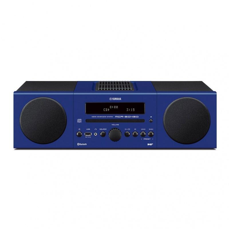 yamaha mcr b043d blue gramofony. Black Bedroom Furniture Sets. Home Design Ideas