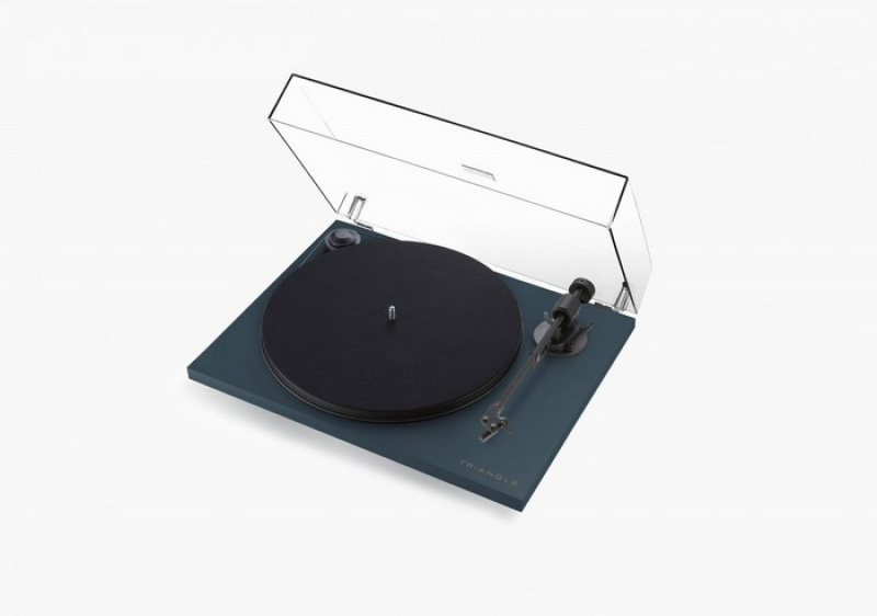 Triangle Elara Active turntable Abyss Blue