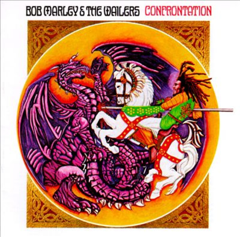 Bob Marley and the Wailers - Confrontation LP