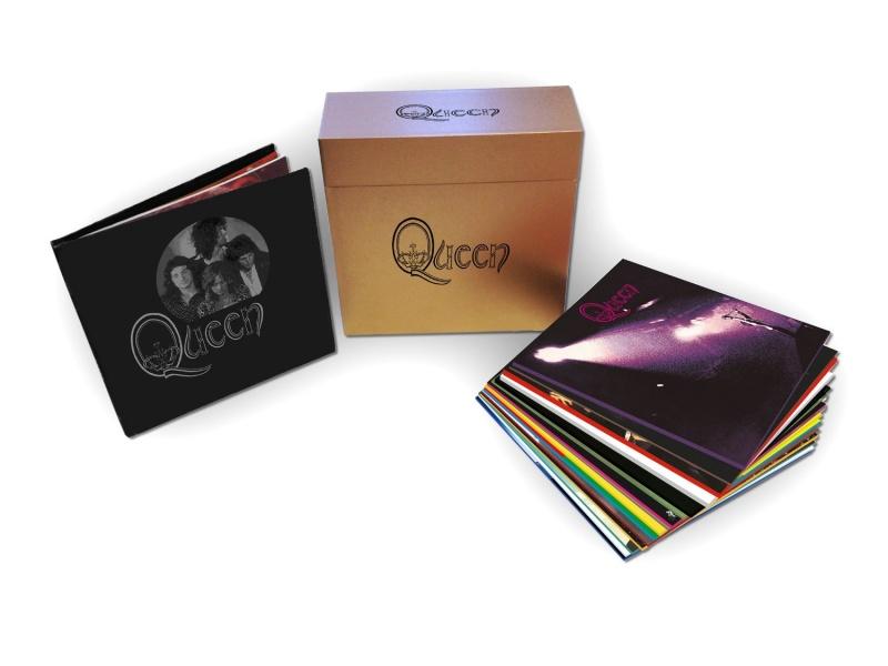 QUEEN - COMPLETE STUDIO ALBUM BOX 18 LP