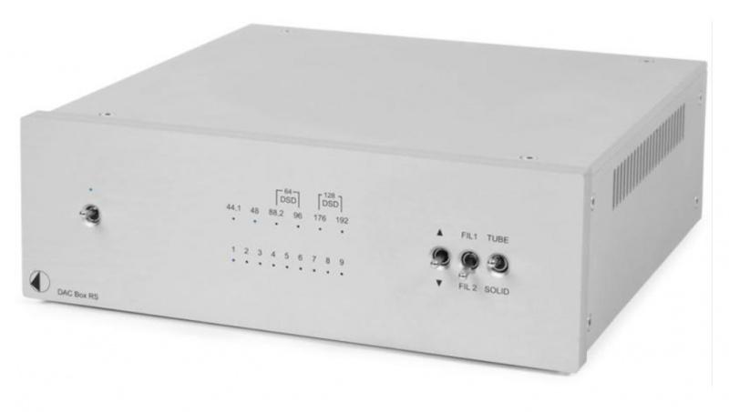 Pro-Ject DAC Box RS Silver - studio