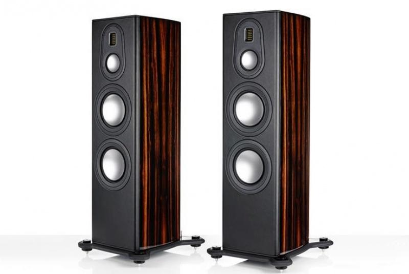 Monitor Audio Platinum PL300 II - Ebony Real Wood Veneer