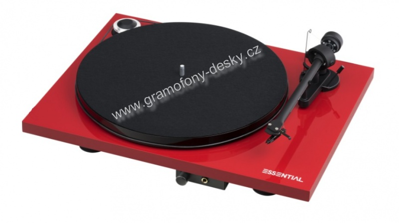 Pro-Ject Essential III HP - Red