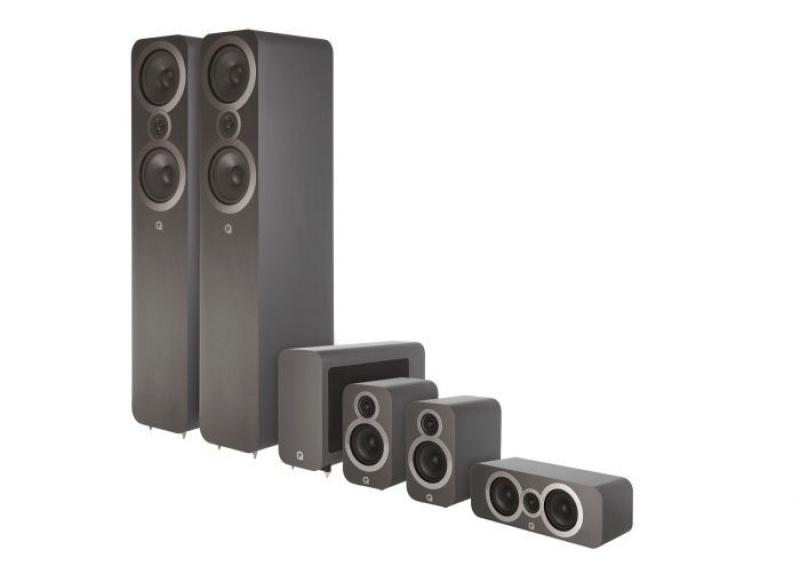 Q Acoustics 3050i 5.1 Graphite Grey