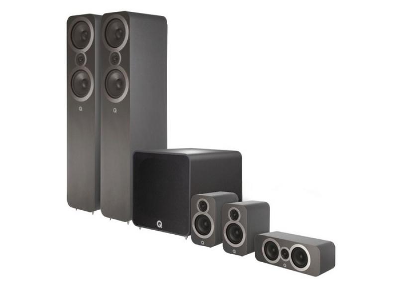 Q Acoustics 3050i Plus 5.1 Graphite Grey