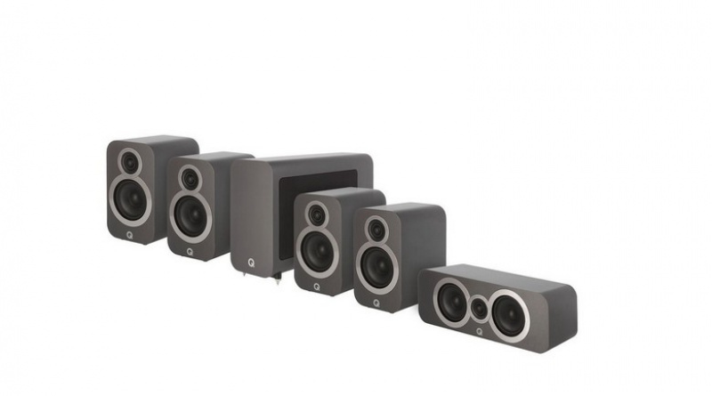Q Acoustics 3010i 5.1 Graphite Grey