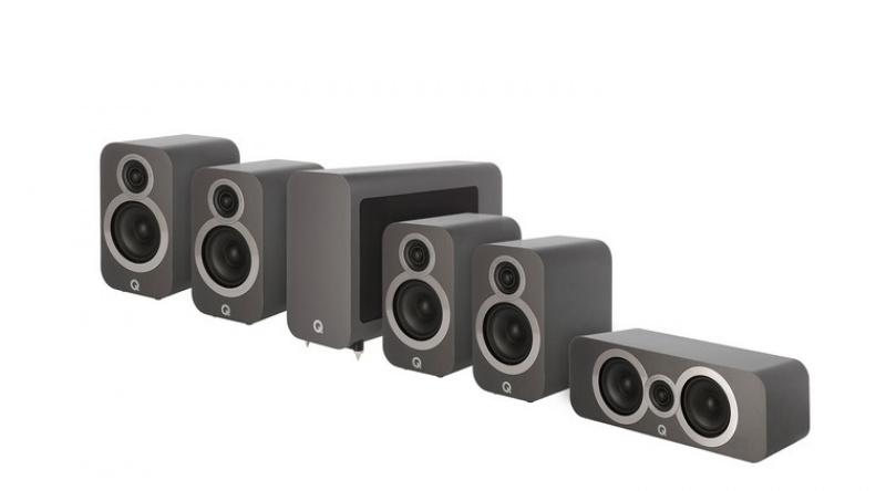 Q Acoustics 3020i 5.1 Graphite Grey