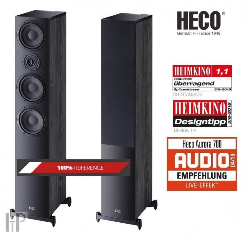 Heco Aurora 700 black ebony