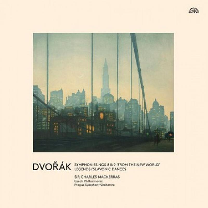 Česká filharmonie, FOK, Sir Ch. Mackerras, Dvořák - Symfonie č. 8 a 9 Z nového světa (3LP)