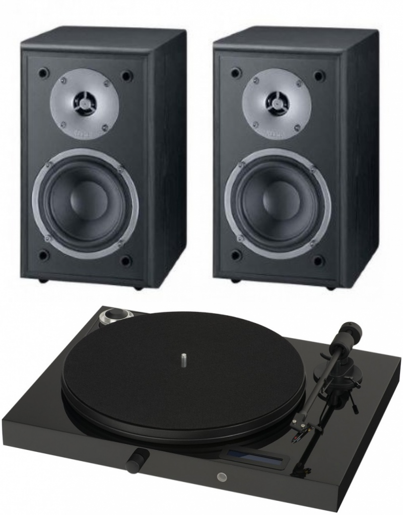 Pro-Ject Juke Box E + Magnat Supreme 102