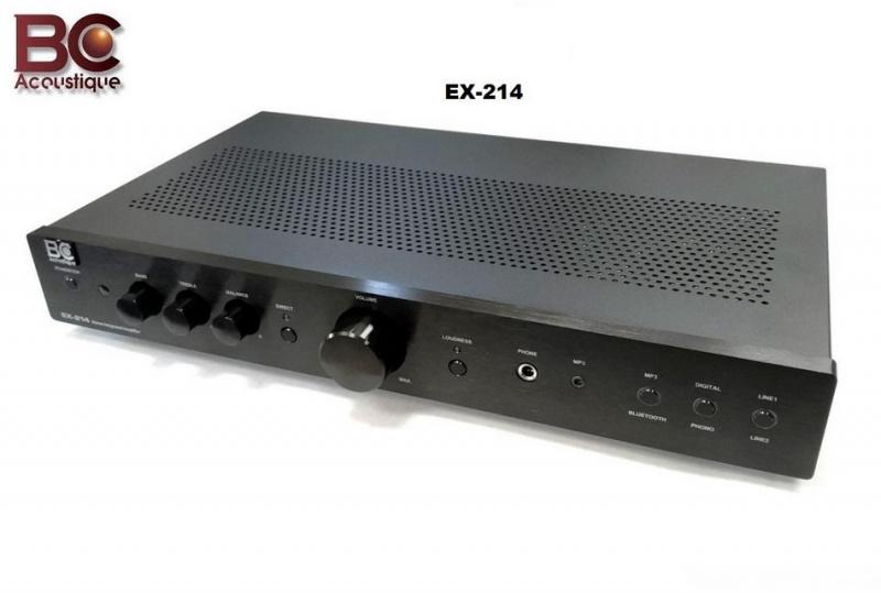 BC Acoustique EX-214 + SUPRA LoRad 1.5 CS-EU - 10A 1.5m