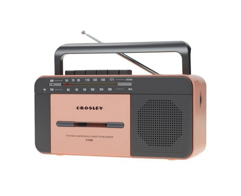 Crosley CT102A Cassette Player Rose Gold
