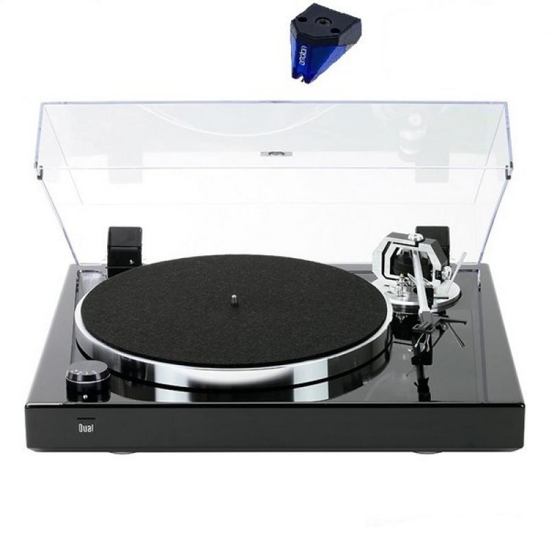 DUAL CS 600 MKII Piano Black + Ortofon 2M BLUE