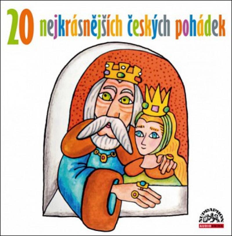 20 nejkrásnějších českých pohádek CD