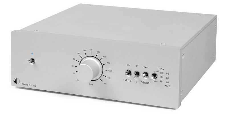 Pro-Ject Phono Box RS Silver - STUDIO